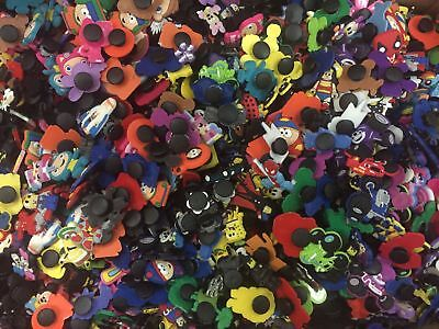 50PCS Different Random Shoe Charms Shoes Accessories Kids Xmas Gifts