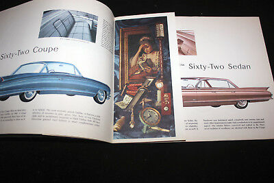 "Genuine Vintage Car Brochure 1961 Cadillac ""Standard of the World"""