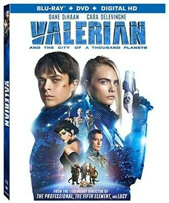Valerian and the City of A Thousand Plan Blu-ray