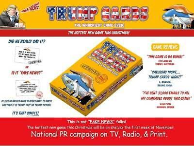 Trump Cards - The Wackiest Card Game Ever