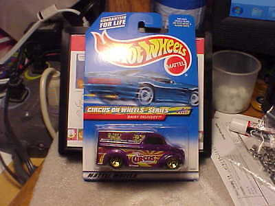 Hot Wheels Circus On Wheels Dairy Delivery