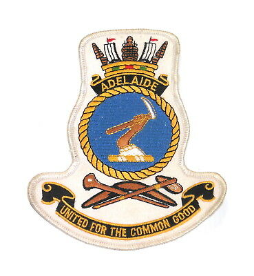 Royal Australian Navy HMAS ADELAIDE Ships patch
