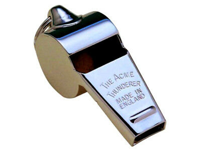 ACME LARGE THUNDERER WHISTLE A Medium Sound Recommended For: General Signalli...