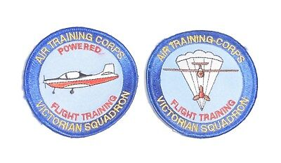 Australian, RAAF Air Training Corps Victorian Squadron patch set of 2