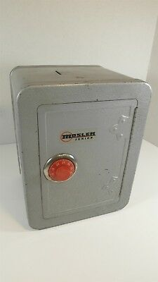 Mosler Junior Toy Combination Bank Safe Locker with original buzzer bell