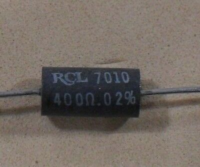 Ultra Precision Wire Wound Inductive Resistors - NEW - RCL 0.1% & 0.02% Values
