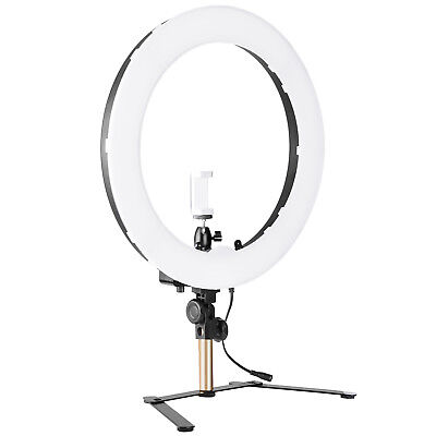 """Neewer 14"""" Outer SMD LED Dimmable Tabletop Ring Light Kit for Portrait Shooting"""