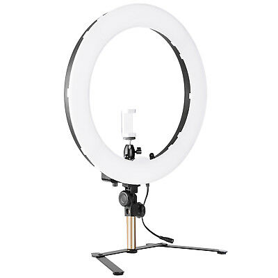 """Neewer 18"""" Outer SMD LED Dimmable Tabletop Ring Light Kit for Portrait Shooting"""