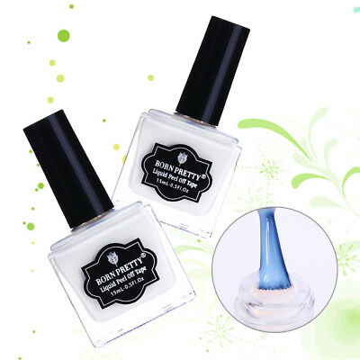 Odor-free Peel Off Nail Latex Cuticle Guard Nail Art Liquid Tape  Tool