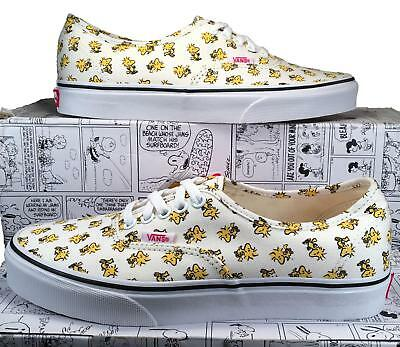 Vans X by Peanuts Woodstock Authentic Sneaker Snoopy Charlie Brown