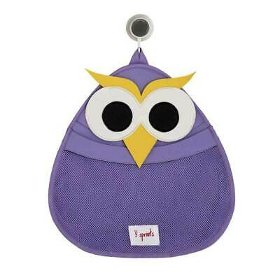 3 Sprouts Bath Storage - Purple Owl