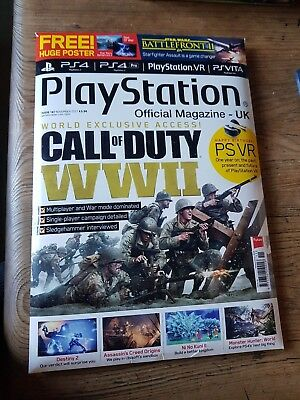 Playstation Official Magazine   -Uk  November 2017