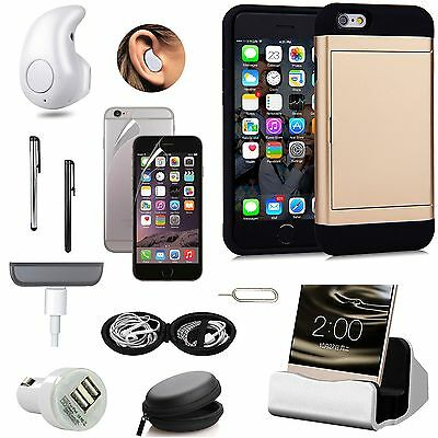 Pocket Case Cover Wireless Earphones Charger Fish Eye Accessory For iPhone 7