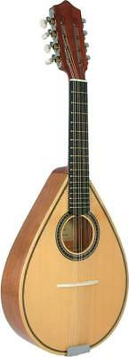 Carvalho Mandolin, SOLID SPRUCE TOP, made in Portugal. Pear shaped body