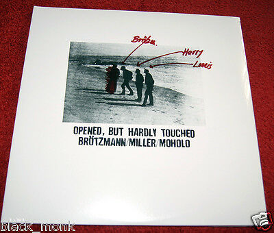 PETER BRÖTZMANN HARRY MILLER LOUIS MOHOLO Opened, But Hardly Touched FMP Re 2LP