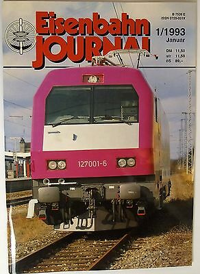 Eisenbahn Journal 1/1993 January, Steam Without If and But