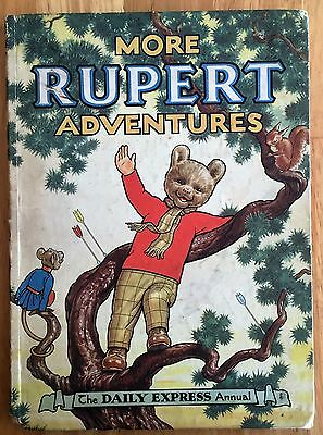 RUPERT ORIGINAL ANNUAL 1952 Inscribed Price Clipped Very Good