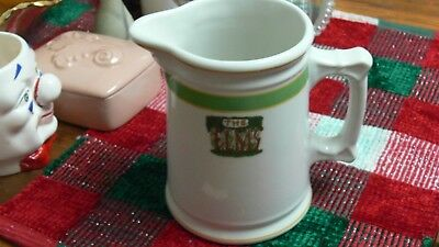 RARE Lamberton Scammell Vintage The Elms Hotel Ware Large Tankard Pitcher