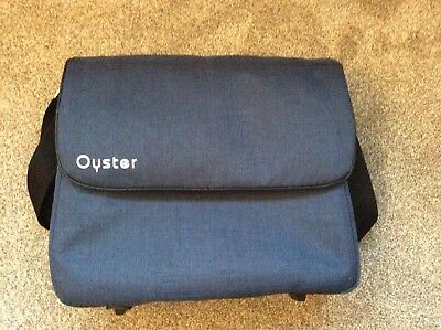 BabyStyle Oyster / Oyster Max baby Changing Nappy Bag Oxford Blue