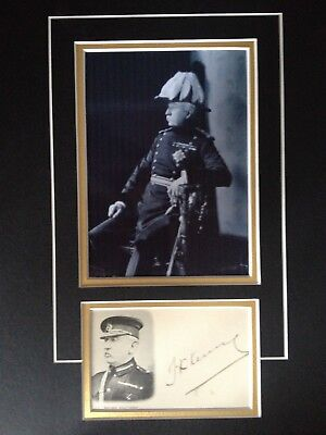 Thomas Kelly Kenny - Army General  - Boer War  - Signed Photo Display