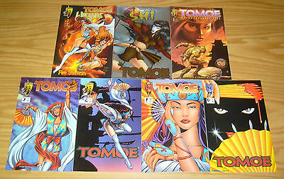 Tomoe #0 & 1-3 VF/NM complete series + witchblade + unforgettable fire + shi vs
