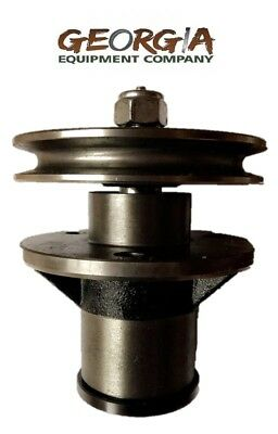 Bush Hog Blade Spindle Assembly 50051388 Pulley 50074053 Rdth Fth Ath Efm 4-5-6
