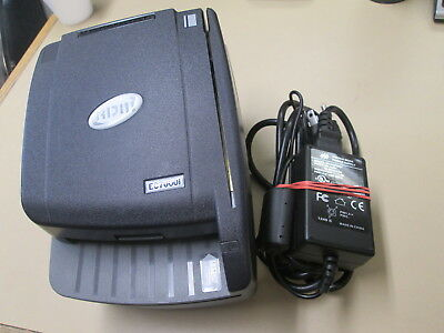 Free Shipping! RDM EC7000i EC7111F Check & Credit Card Reader Scanner W/ AC Adap