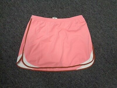 TAIL TECH PERFORMANCE NWT Pink Brown Lycra Blend Athletic Skort Size M SMA1208