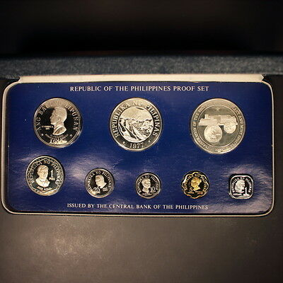 Philippines 1977 8pc. Gem Proof Set
