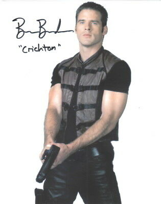Ben Browder as Crichton with Gun on Farscape Autographed Picture NEW
