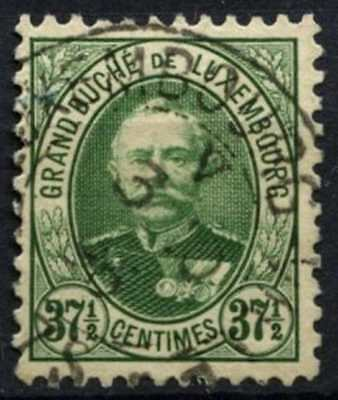 Luxembourg 1891-3 SG#131b 37.5c Bright Green P11.5x11 Used #D63765