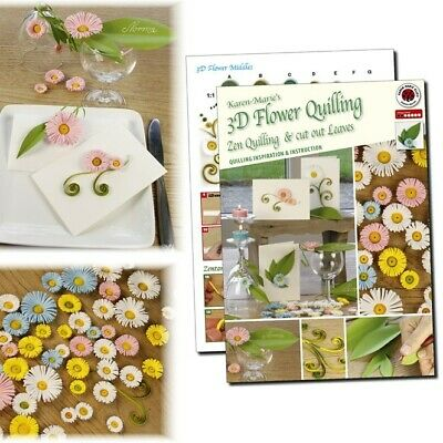 Karen Marie Klip: Instruction Flower Quilling/  Anleitung