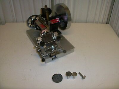 Lipshaw Microtome Assembly Minotome 50-AB with Specimen holders and blade
