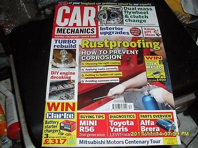 Car Mechanics Magazine December 2017 And Is Good Condition