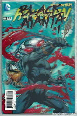 Aquaman #23.1 3D Lenticular Variant Black Manta #1 Dc New 52 Secret Society 2013