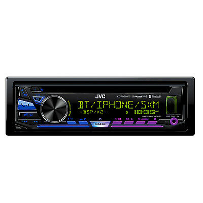 JVC KD-RD98BTS Single DIN Bluetooth In-Dash CD/AM/FM Car Stereo Receiver