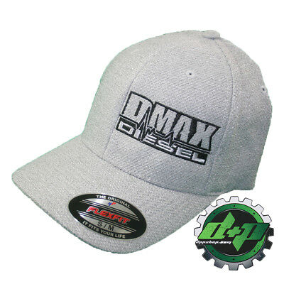 S/M DMAX Diesel Flexfit fitted flex fit trucker ball cap hat Chevy Duramax truck