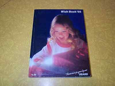 Vintage 1985 Sears Wish Book Christmas Catalog - 644 Pages - Excellent