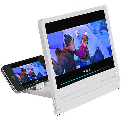 Folding Enlarged 3D Magnifier Screen Portable HD Amplifier For Mobile Phone Fine