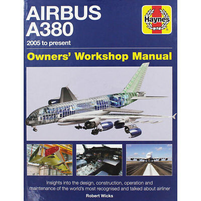 Haynes Airbus A380 Owners Workshop Manual (Hardback), Non Fiction Books, New