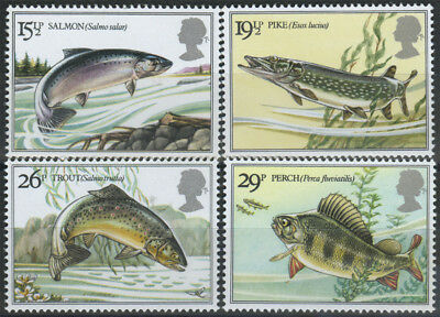 SG 1207-10 1983 River Fishes Superb unmounted mint