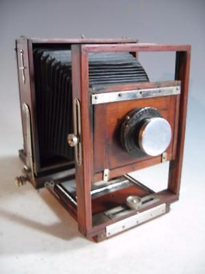 Vintage Wood Wooden Seneca Competitor View 5 X 7 Camera