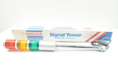 New Patlite Stf-302T Multi-Stack Signal Tower Light D588528