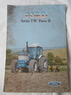 @Vintage Ford Series TW Force II Tractor Brochure @