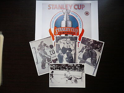 Lot 5  Nhl  Hockey Photo Finish Clear Glossy Ken Dryden Golaie Lot6
