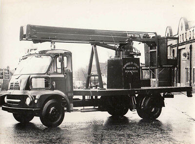 Morris Fg, Borough Of Colne Highways Department Truck Photograph.