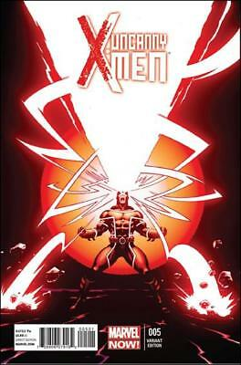 Marvel Comics - Uncanny X-Men #5 - 1:50 Ed Mcguinness Variant - New Nm June 2013
