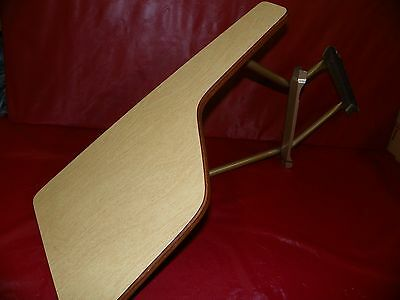 Vintage Amerex Removable Side Desk for Metal Folding Chairs, By American Seating
