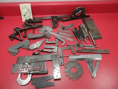 Machinist Tools: Mixed Lot of Starrett Inspection & Measurement Tools