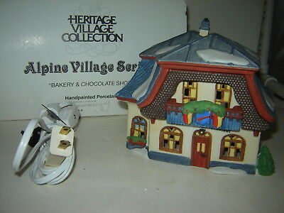 Dept 56 Alpine Village - Bakery & Chocolate Shop